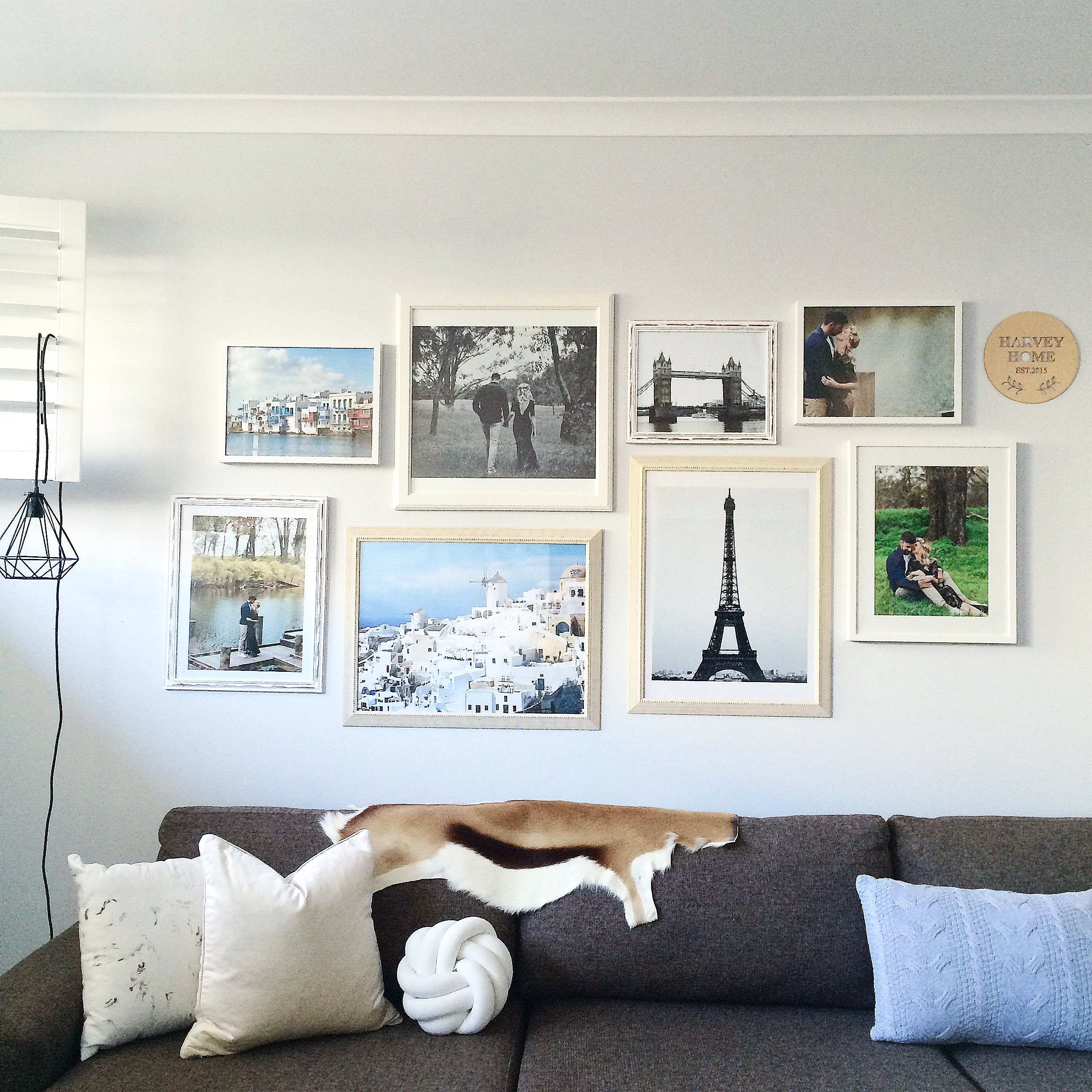 Creating A Family Gallery Wall Miss Kyree Loves