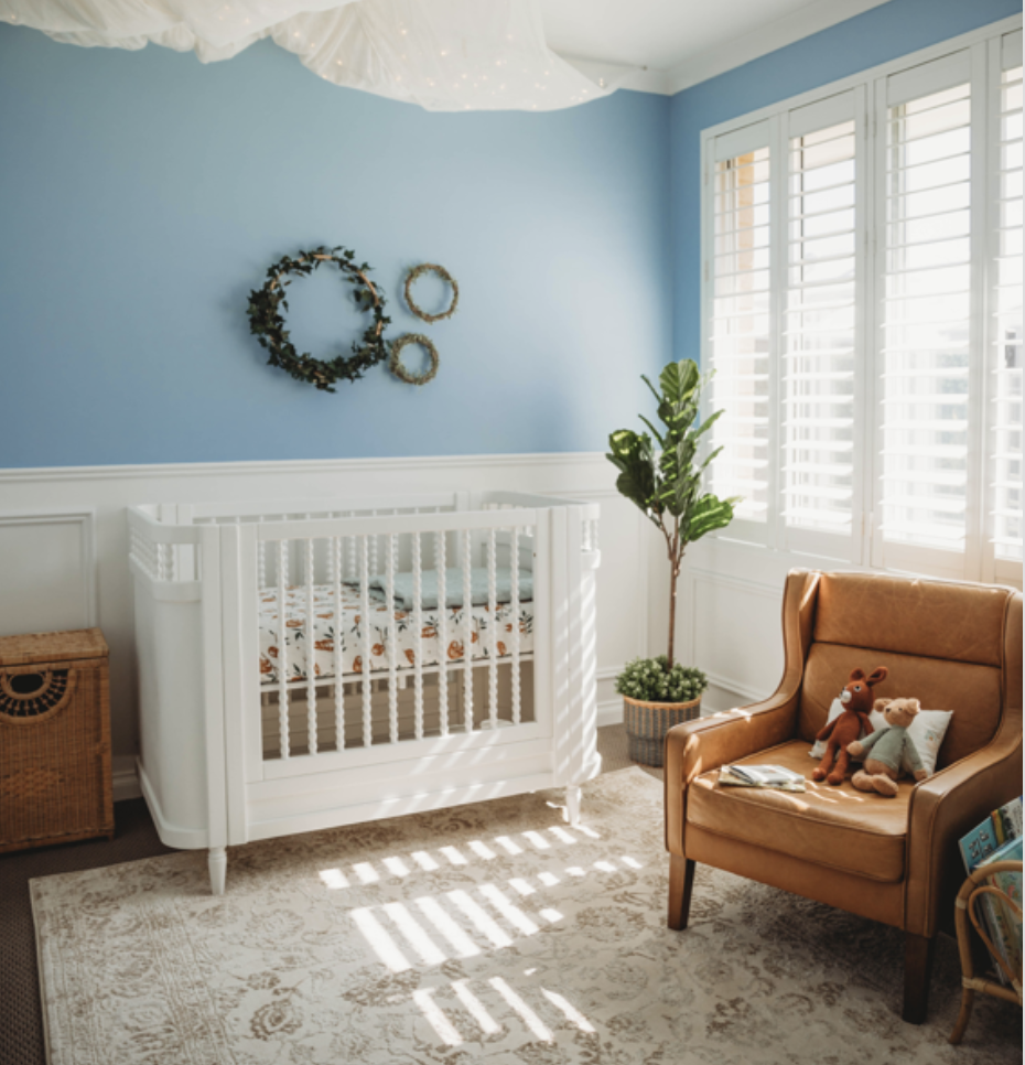 Loxley's Room – A Baby Blue Nursery